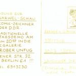 Einladung Ausstellung 1989 Rückseite