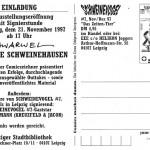 Einladung Ausstellung 21.11.1997 Rückseite