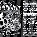 Schweinevogel Ausstellung Moritzbastei 1994