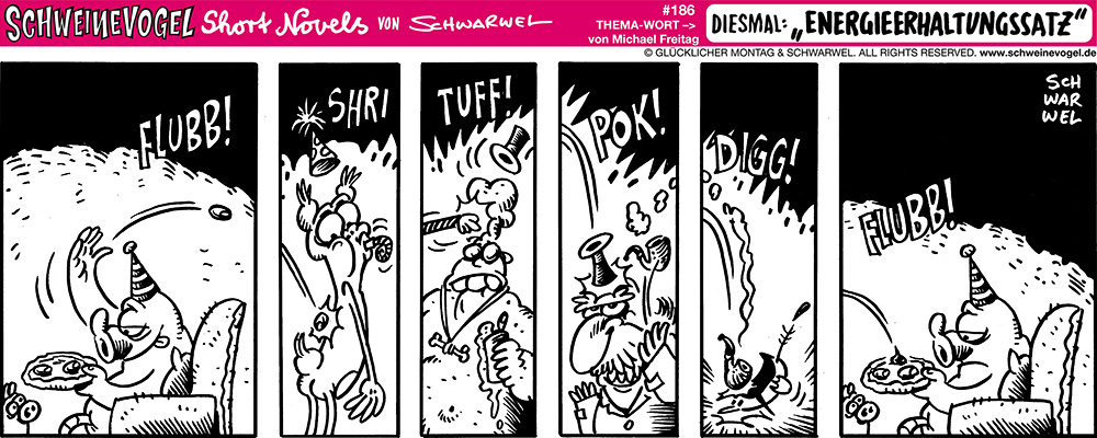 Schweinevogel Schwarwel Comic